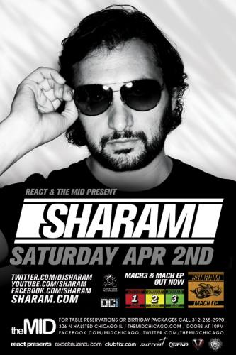 4.2 Sharam – Control Saturdays at The Mid Chicago
