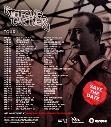 Wolfgang Gartner @ Marquee Theatre