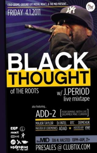 4.1 REACT PRESENTS: BLACK THOUGHT AT THE MID