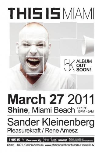 This is Sander Kleinenberg