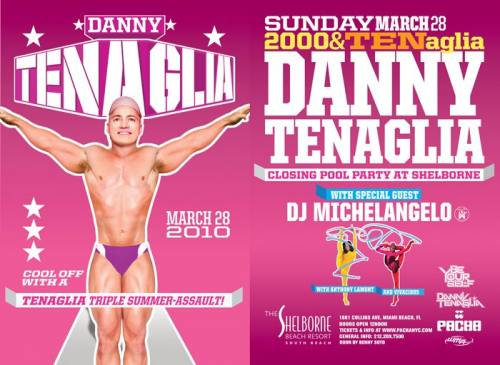 Danny Tenaglia Closing Pool Party at Shelborne South Beach Resort