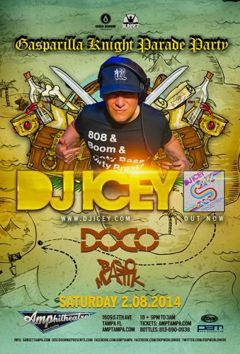 DJ Icey @ Amphitheatre Event Facility (02-08-2014)