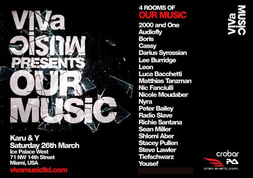 Viva Music Presents: Our Music