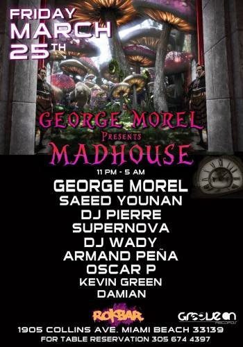 George Morel & Groove On Records presents: The Madhouse
