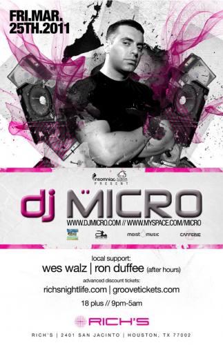 DJ Micro @ Rich's