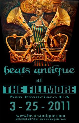 Beats Antique @ The Fillmore