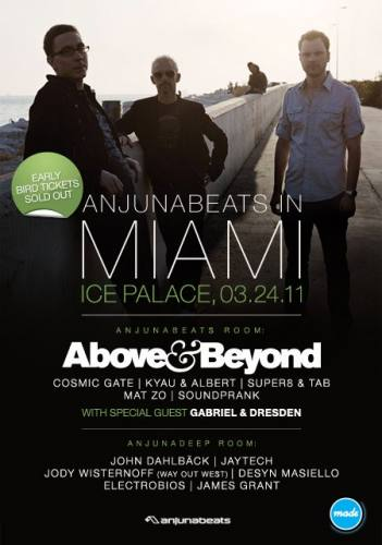 Above & Beyond presents Anjunabeats in Miami 2011