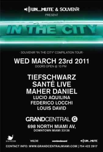Un_mute & Souvenir Music presents In The City Compilation Tour