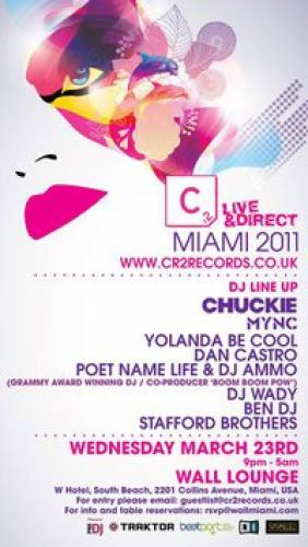 Cr2 Records Party @ WALL