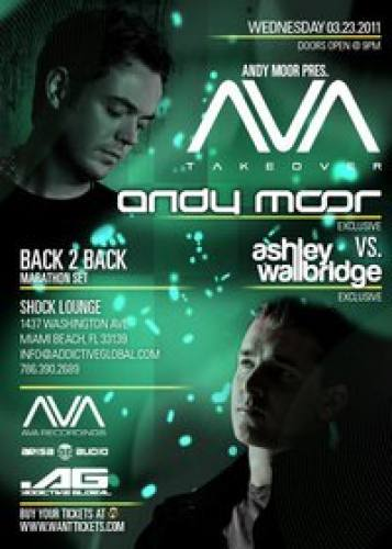 Andy Moor presents AVA Takeover