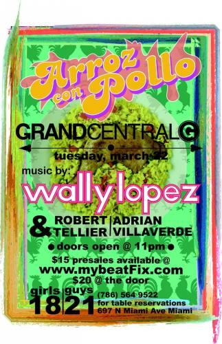 Arroz Con Pollo: Wally Lopez at Grand Central