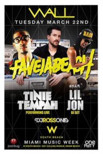 Lil Jon and Tinie Tempah at Wall Lounge