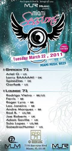 Miami Sessions- Miami Music Week Edition