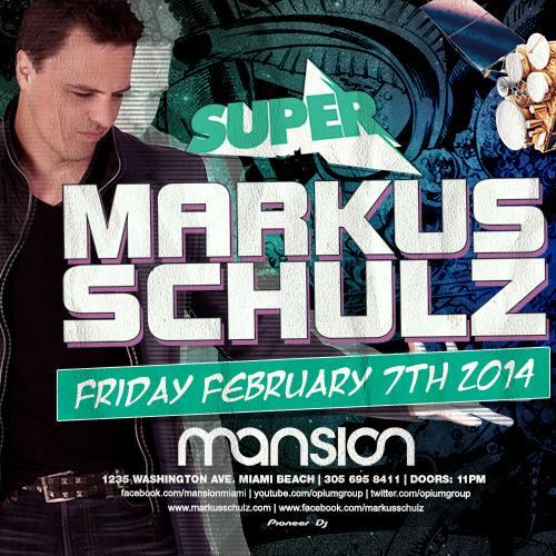 Markus Schulz @ Mansion (02-07-2014)