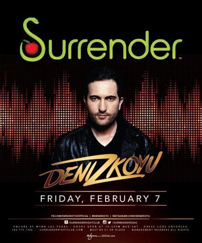 Deniz Koyu @ Surrender Nightclub (02-07-2014)