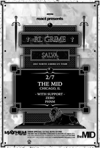 RL Grime & SALVA @ The MID