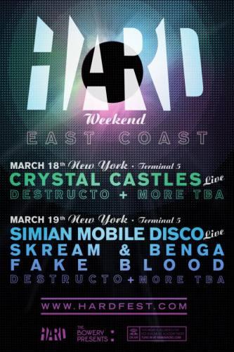 HARD WEEKEND NEW YORK CITY (3/19)