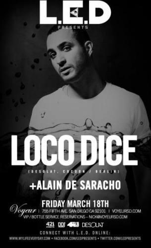Loco Dice @ Voyeur