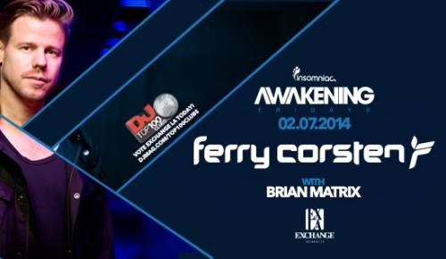 Awakening with Ferry Corsten at Exchange LA