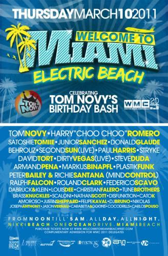 Welcome To Miami presents Electric Beach @ Nikki Beach