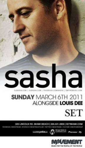Movement presents Sasha at SET