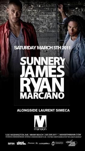 Sunnery James & Ryan Marciano @ Mansion