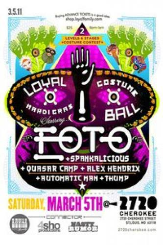 Loyal Mardi Gras Costume Ball - Starring EOTO