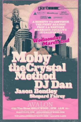 Moby & The Crystal Method @ Avalon