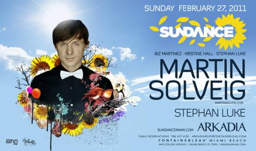 Sundance presents Martin Solveig