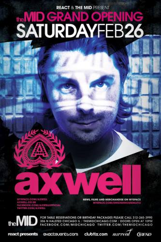 Axwell @ The MID