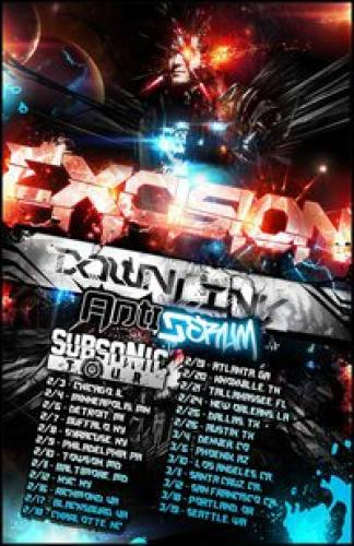 Excision Subsonic Tour in Austin w/ Downlink & Antiserum