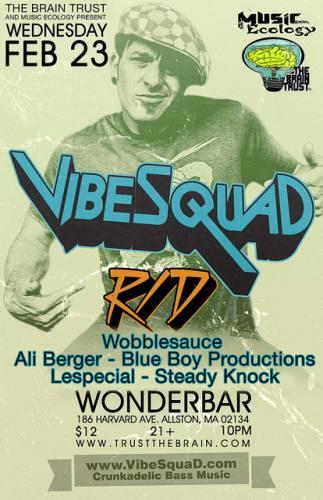 VibeSquaD & R/D @ Wonder Bar