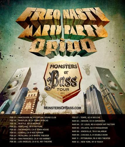 Monsters of Bass Tour @ Neumos