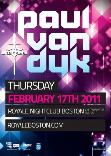 Paul van Dyk @ Royale