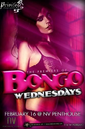 BONGO Wednesdays at NV Penthouse Lounge Chicago