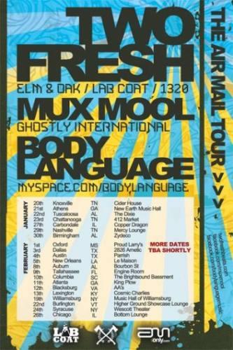 Two Fresh & Mux Mool @ Cosmic Charlie's