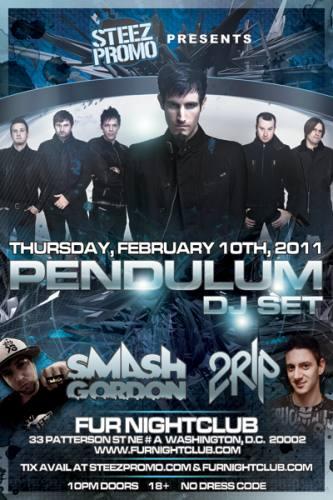 PENDULUM (DJ Set) @ FUR Nightclub