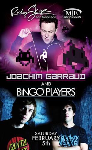 Joachim Garraud & Bingo Brothers @ Ruby Skye