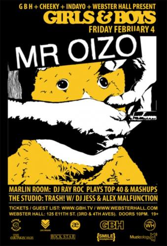 Girls & Boys w/ Mr. Oizo + Guests
