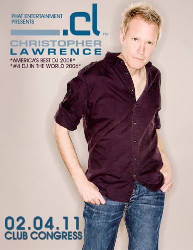 Christopher Lawrence @ Club Congress