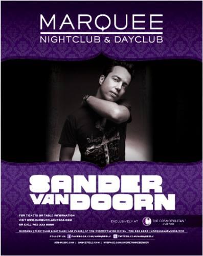 Sander Van Doorn @ Marquee Nightclub