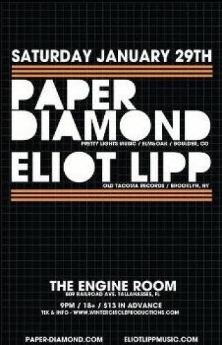 Paper Diamond & Eliot Lipp @ The Engine Room