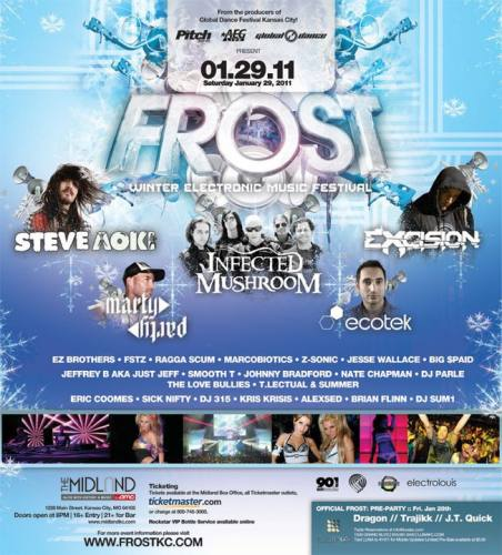FROST : Winter Electronic Music Festival