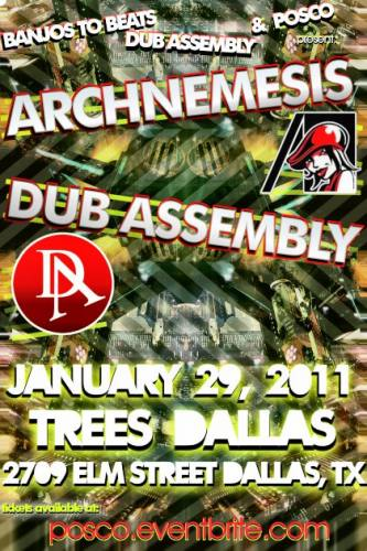 ARCHNEMESIS & DUB ASSEMBLY @ TREES