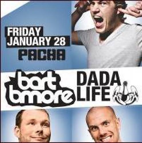 Bart B More & Dada Life @ Pacha