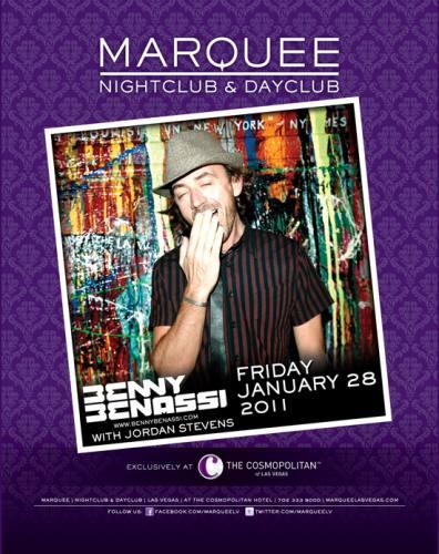 Benny Benassi @ Marquee Nightclub
