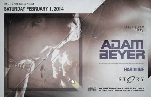 Adam Beyer @ STORY Miami