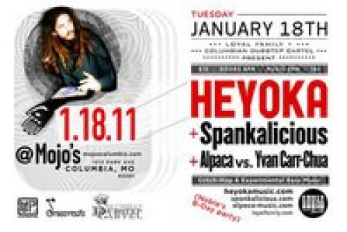 Heyoka + Spankalicious in Columbia