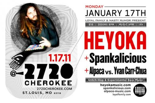 Heyoka + Spankalicious in St.Louis