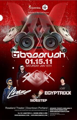 BASSRUSH featuring Skrillex and DJ Craze